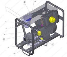 Стационарный аппарат высокого давления Karcher HD 9/18-4 Cage, фото 3