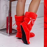 Женские домашние махровые сапожки,тепло и уют!, фото 4