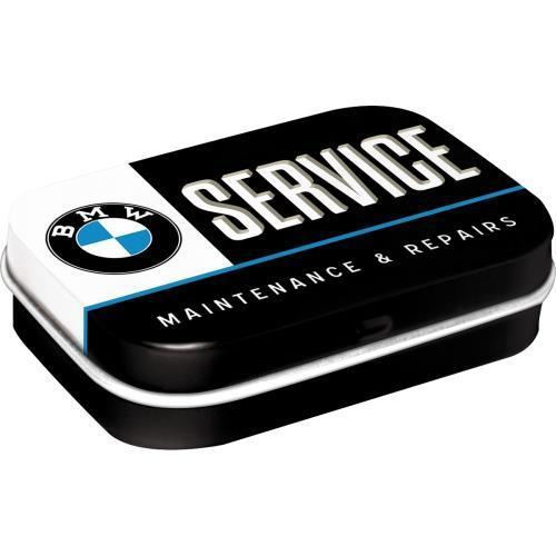 М'ятні драже в коробочці Ностальгічне-Art BMW - Service (81337)