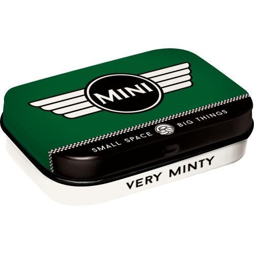 Мятные драже в коробочке Nostalgic-Art Mini - Logo Green (81343)