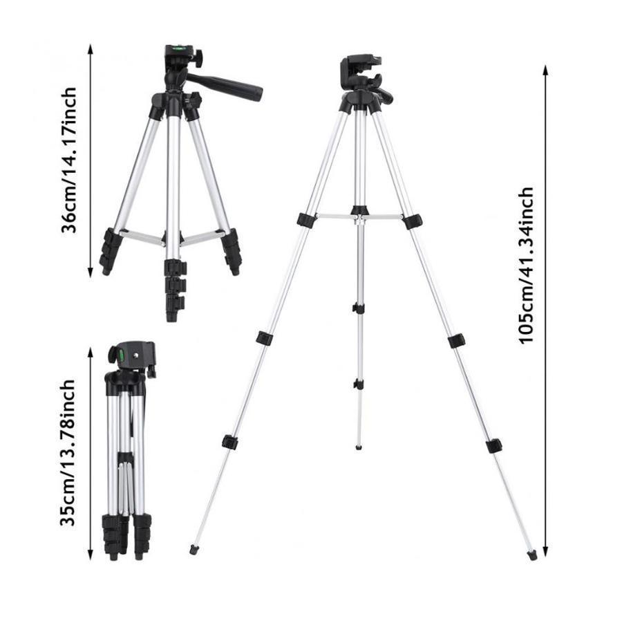 Штатив, трипод для фотоаппарата (камеры), фотоштатив, тринога для телефона 3110