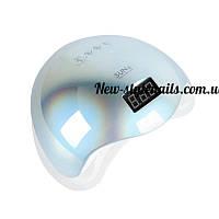 Новинка!Профессиональная LED-лампа для сушки гелей и гель лаков SUN 5 48 вт хамелеон(бирюза)