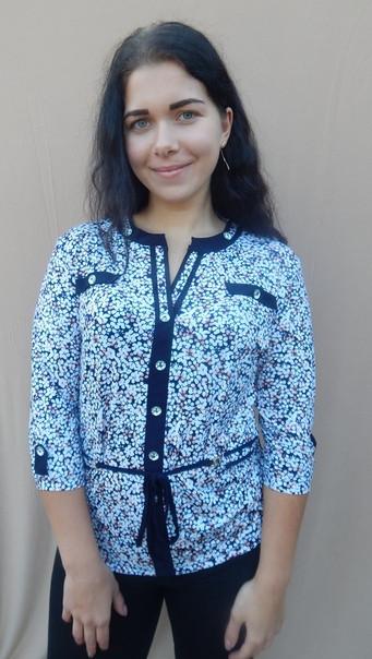 Жіноча сорочка великого розміру масло розміри 50 52 54 56 58 60