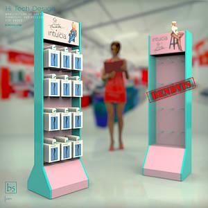 Производство торгового оборудования для компании Интуиция