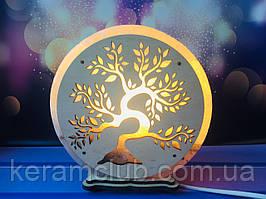 Соляная лампа Дерево d 17 cм