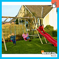 Деревянная детская площадка TokarMebel «Садик»