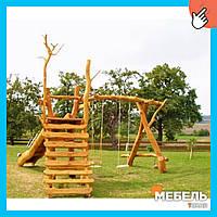 Деревянная детская площадка TokarMebel «Фантазия»