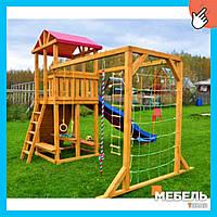 Деревянная детская площадка TokarMebel «Игра»