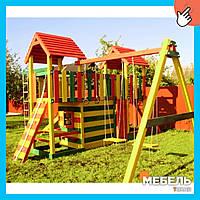 Деревянная детская площадка TokarMebel «Карусель»