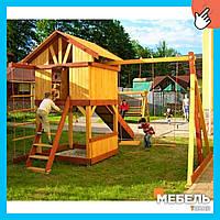 Деревянная детская площадка TokarMebel «Счастливое детство»