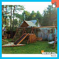 Деревянная детская площадка TokarMebel «Пират»