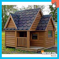 Деревянный детский домик TokarMebel «Хауз»