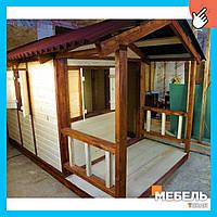 Деревянный детский домик TokarMebel «Усадьба»