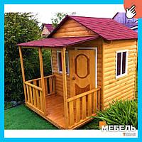 Деревянный детский домик TokarMebel «Сюзанна»
