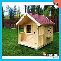 Деревянный детский домик TokarMebel «Фелиция»