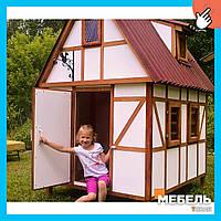 Деревянный детский домик TokarMebel «Кэтрин»