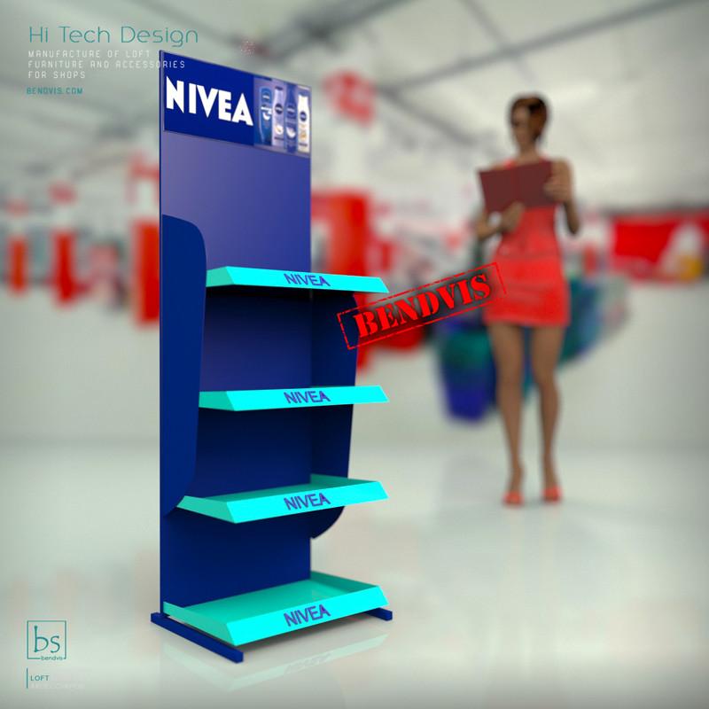 Стойка рекламная купить Nivea