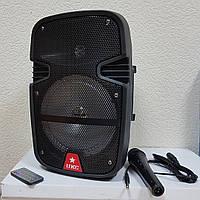 Акустика колонка-чемодан UKC 258 karaoke, фото 1
