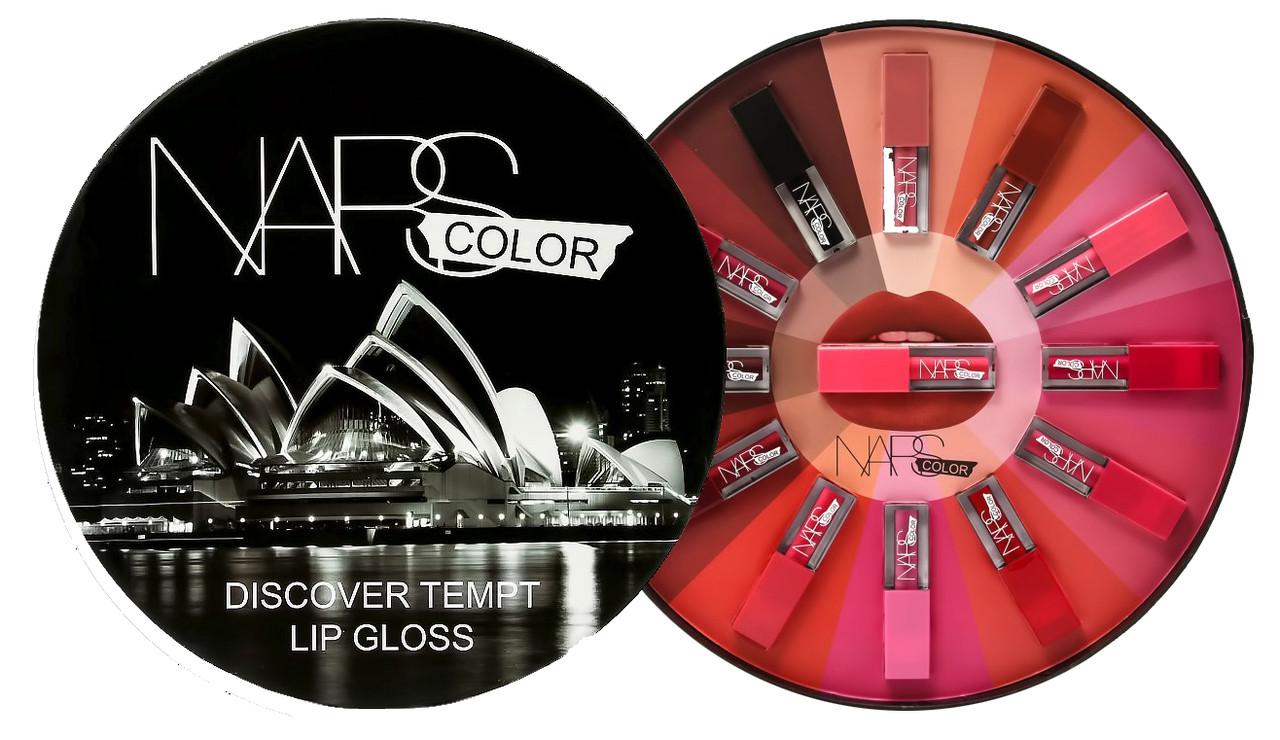 Набор помад для губ NARS Color Discover lip Gloss