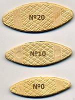 Плоские шканты (ламели) Virutex (Испания), №0, №10, №20 1000 штук