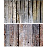 Студийный фон для фото, текстурный фотофон (двусторнонний) 57×87 см Дерево 2