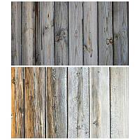 Студийный фон для фото, текстурный фотофон (двусторнонний) 57×87 см Дерево 6