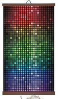 Обогреватель-картина инфракрасный настенный ТРИО 400W 100 х 57 см, мозаика, фото 1