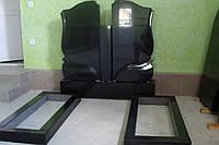 Двойные гранитные памятники по низким ценам №108