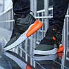 """Кроссовки Nike Air Force 270 """"Черные\Хаки\Оранжевые"""", фото 3"""