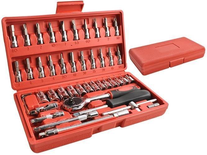 Набір інструментів 46 елементів, набор инструментов