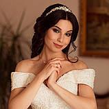 Tiffany - Ніжний віночок діадема срібного кольору (4,5см), фото 2