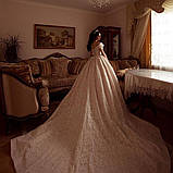 Tiffany - Ніжний віночок діадема срібного кольору (4,5см), фото 3
