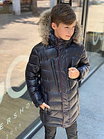 Куртка зимняя для мальчика 146-164см