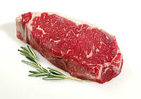 Стейк New York (Тонкий край), USDA Choice. Мраморная говядина из США. Зерновой откорм