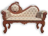 Скамейка в прихожую спальню в классическом стиле