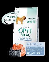 Корм Optimeal Hypoallergenic Medium Salmon Оптіміл Гіпоалергенник Медиум з лососем 12 кг