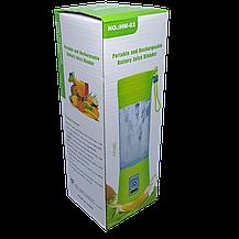 Блендер Smart Juice Cup Fruits USB Фиолетовый 4 ножа, фото 3