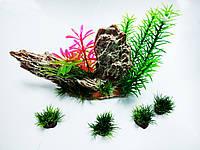 Искусственное растение SunSun набор ZJ-02