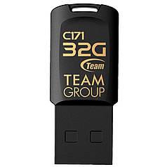 Флеш-накопичувач Team 32GB C171 (TC17132GW01) Black для передачі і зберігання даних