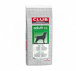 Корм Royal Canin (Роял Канін) Club Pro Adult CC для собак з помірною активністю, 20 кг