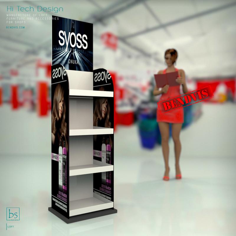 Торговое оборудование на заказ Syoss