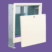 Шкаф врезной для коллектора теплого пола 2-4 выхода  430х700х120мм.