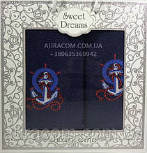 Sweet Drems   Подарочный набор в коробке,  полотенце банное,полотенце  для лица