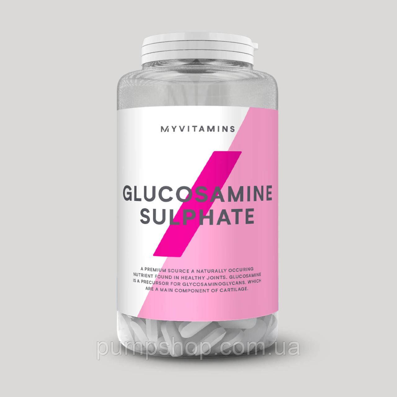 Глюкозамін-сульфат Myprotein Glucosamine sulphate 120 капс.