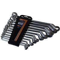 Набор накидных ключей CrV, 12шт (6-32мм) Miol 51-762