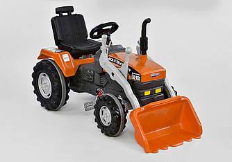 Экскаватор с педалями и ковшом 07-297, оранжевый - 154817