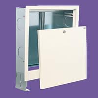 Шкаф врезной для коллектора теплого пола 5-7 выходов  560х700х120мм.
