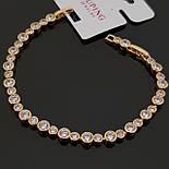 Классический браслет. Бижутерия из медицинского золота, фото 2