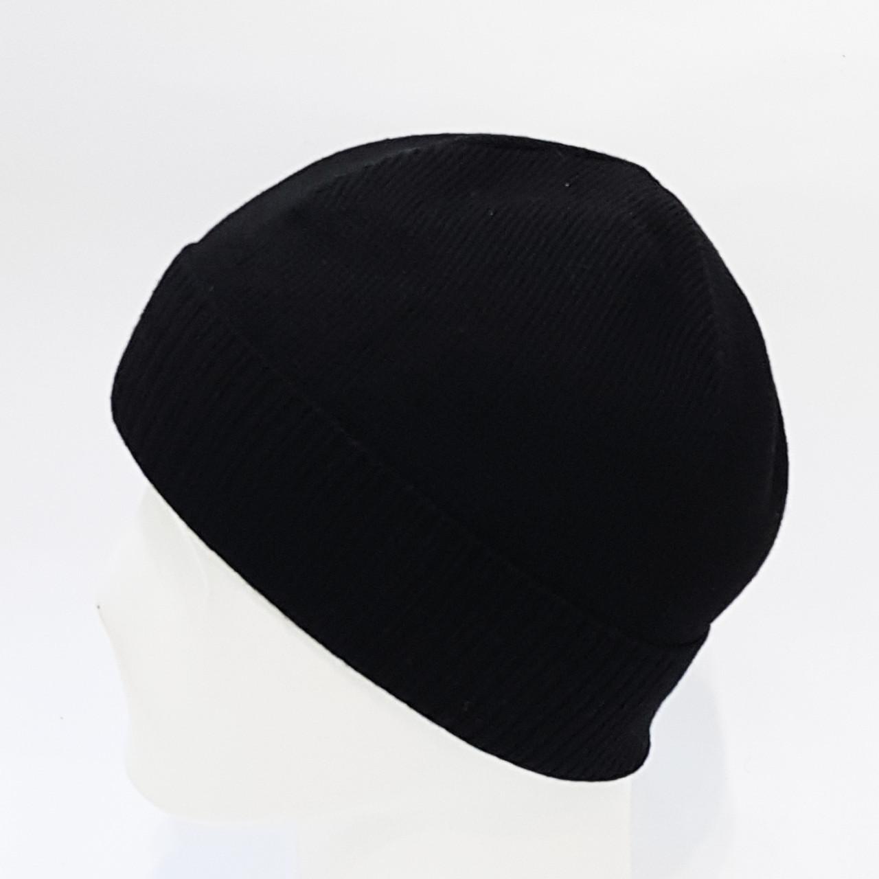 Шапка мужская Wag  без флиса(черный WG01/1)