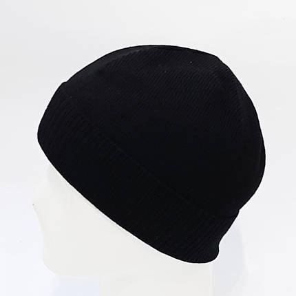 Шапка мужская Wag  без флиса(черный WG01/1), фото 2